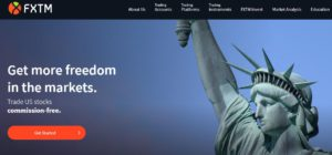 FXTM Get more freedom