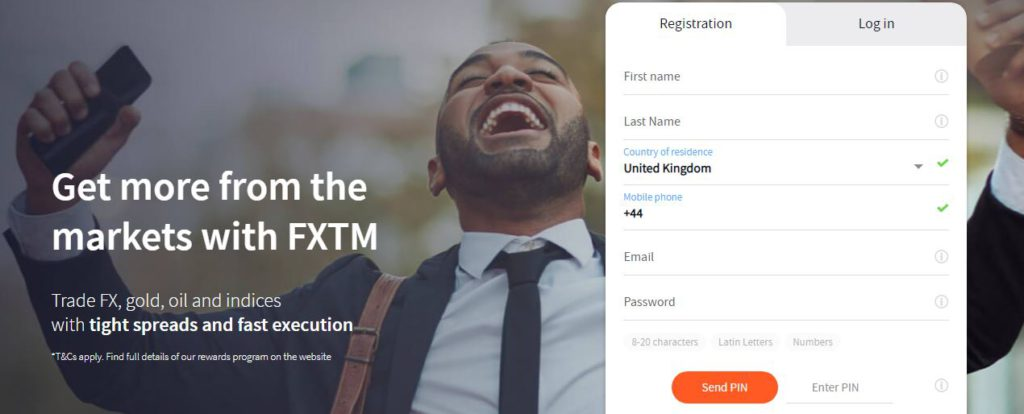 FXTM Get more from the markets