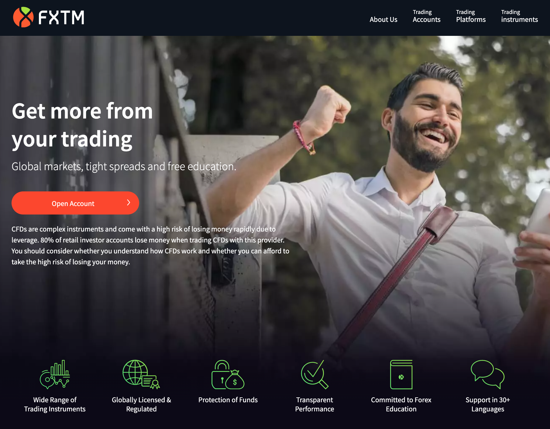 FXTM Homepage