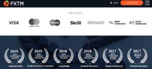 FXTM ratings