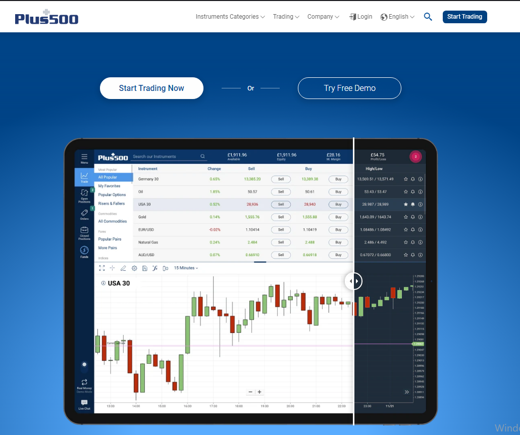 Trading on Plus500 — Review of Plus500 WebTrader and Forex Broker of 2021