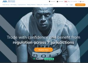 AvaTrade Homepage